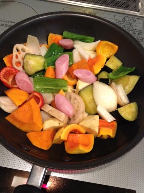 淡路島産の野菜、ソウーセージ