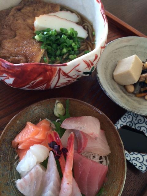 大晦日@石狩の韃靼蕎麦と、自家製お揚げ