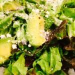 サラダ菜と、アボガド。