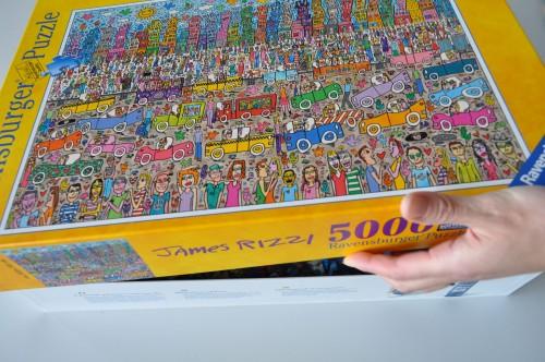 5000ピースのジグソーパズルを自宅の壁に飾ろう