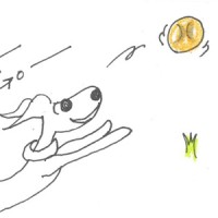 4コマ漫画「ボクの大好物」