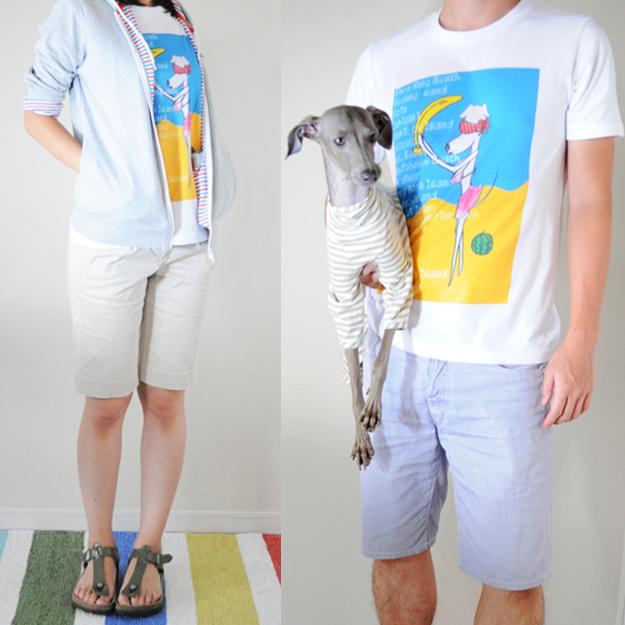 ポップでいいじゃん!イタグレをモチーフにした「Tシャツ」を着てみた!