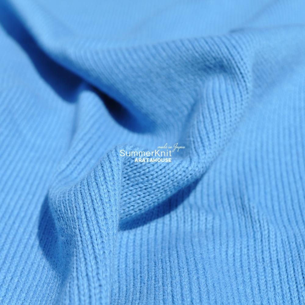 犬服 サマーニット 日本製コットン100%天竺ニット 選べる3タイプ×2カラー(純白/空色)