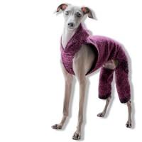 「イタグレ服」秋冬の新作第二弾|もこもこウールで暖かローパース|パープルカラーを追加しました
