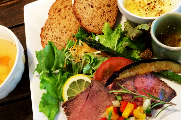 地元古代米や自家製無農薬野菜がとっても嬉しいランチ|淡路島@犬と一緒に行けるカフェ「lauhbe」
