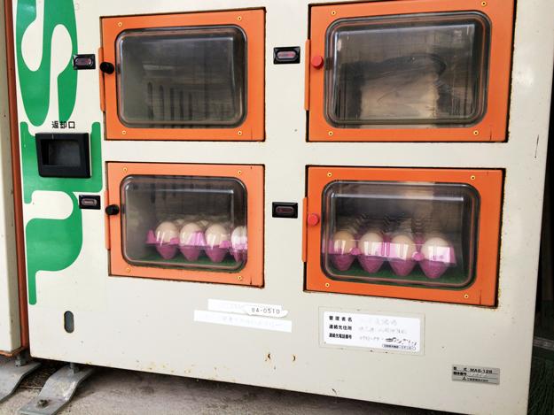 淡路島のたまご|自動販売機で売ってる新鮮卵@北坂養鶏場