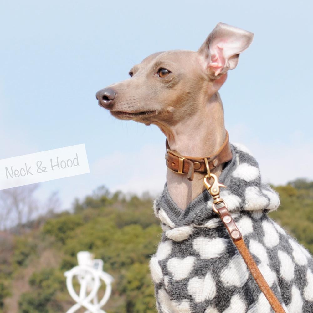 「たくさんの愛に包まれてほしい」そんな気持ちをお洋服に込めて、愛犬に贈りませんか?|イタリア製ハートニット