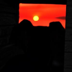 淡路島の夕焼け 私たちの好きな時間201505