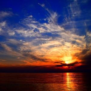 「淡路島の夕陽と夕焼け」心が穏やかになる時間|May – July 2015 photo