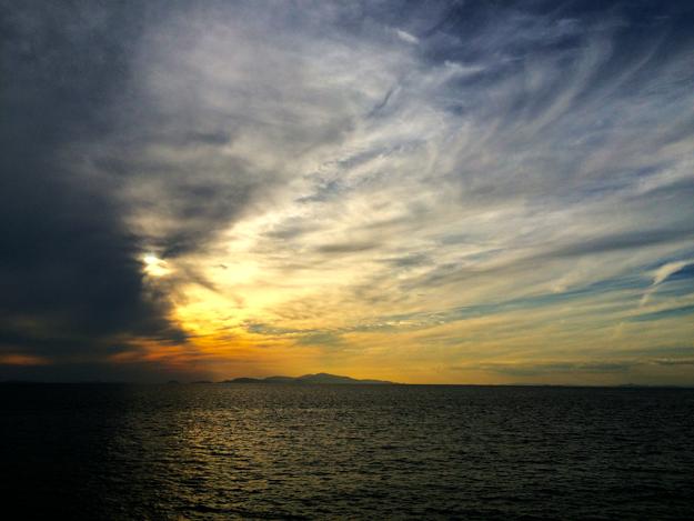 淡路島をランニングしながら