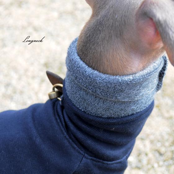 「ミニピン&イタグレの冬服」今年も♪来年もお世話になります♡毛布に包まれたような暖かさと、優しい肌さわり 裏起毛ボンバーヒートニット(保温)