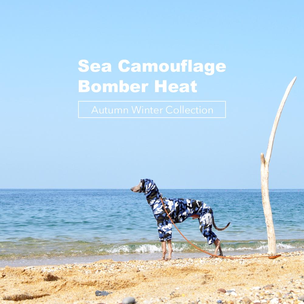 「犬服|Sea Camouflage」みんなのコーディネート|ミニピン、イタグレ、ウィペット、サルーキ