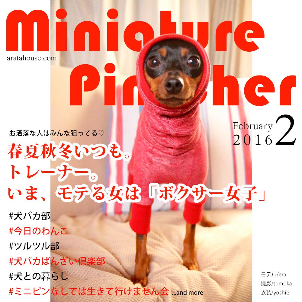 ミニチュア・ピンシャー2月号 本日発売!今月の特集は「ミニピンなしでは生きて行けません会」
