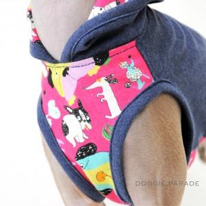 「新作犬服」春らしく明るく楽しくいこうよ!色々なワンちゃんが登場「わんわんパレード」