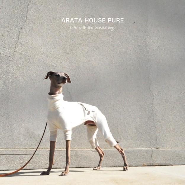 「犬服・犬寝袋・雑貨の通販|ARATA HOUSEショッピング」イタグレ、ミニピン、ウィペット、サルーキなどのシンプルな犬服、暖かい犬寝袋をハンドメイドで1着1着丁寧に製作しています。手作りならではのぬくもりをお届けいたします。