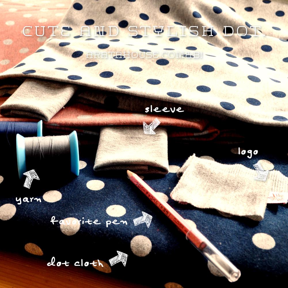 """イタグレ服、ミニピン服を考える時間「可愛さとスタイリッシュさを感じる""""ドット""""の服を作りたい!」"""