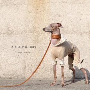 「新作犬服」もうすぐ春だね。「キレイな綿100%の杢天竺ニット×カンガルーポケット」を着てどこ行こう。