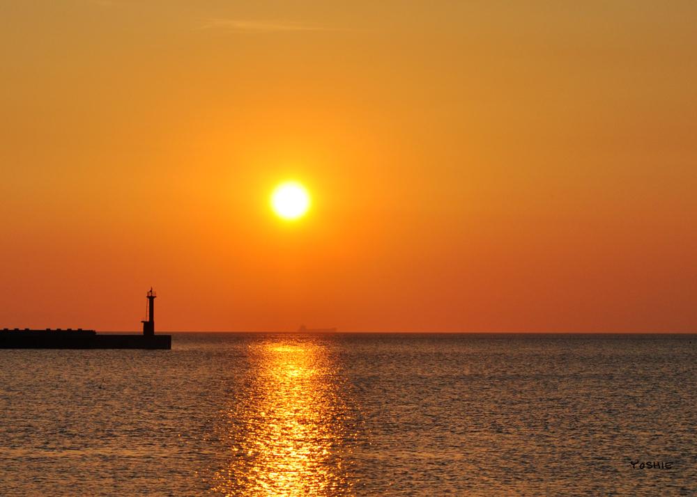 「淡路島の暮らし」一日の始まり、一日の終わり。