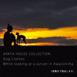 1営業日以内の発送が可能な犬服始まりました「ARATA HOUSE COLLECTION」